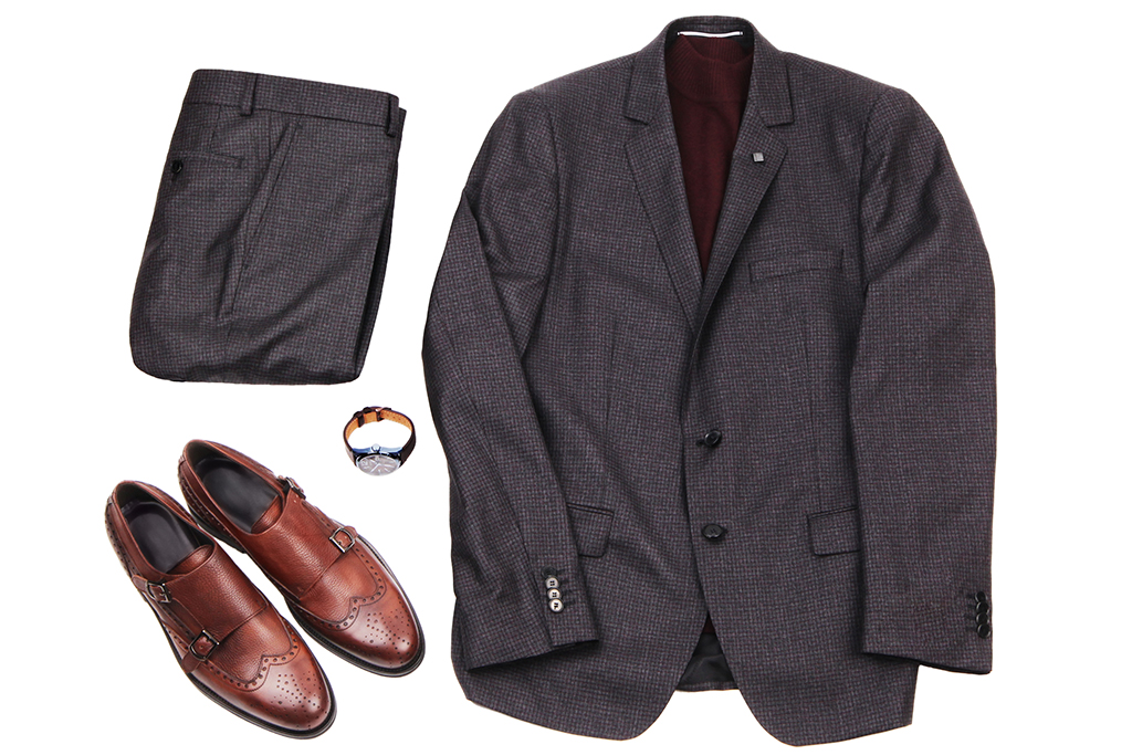 black shoes for black suit