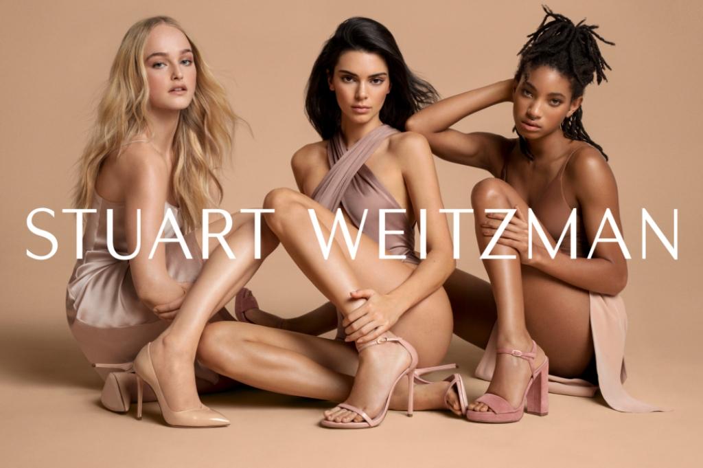 Stuart Weitzman spring 2019 campaign