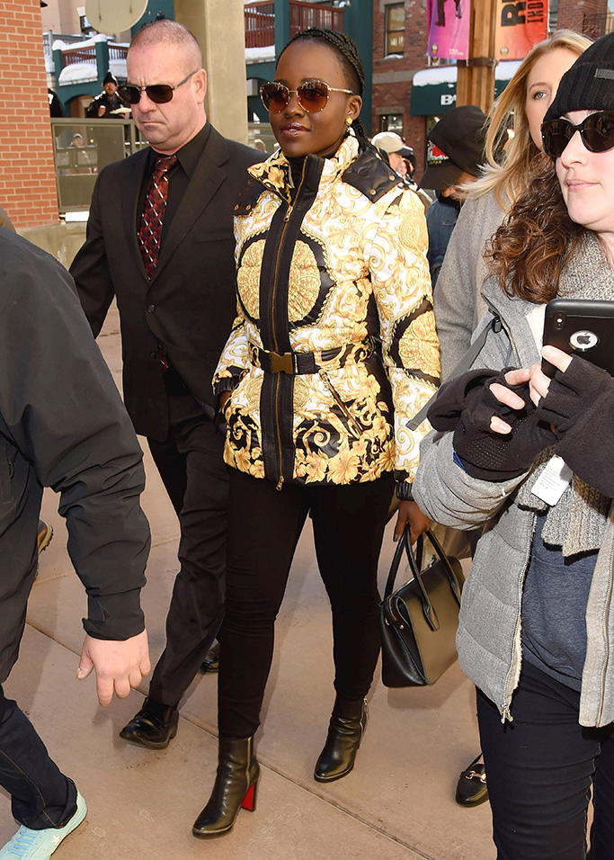 Lupita Nyong'oLupita Nyong'o out and about, Sundance Film Festival, Park City, USA - 28 Jan 2019