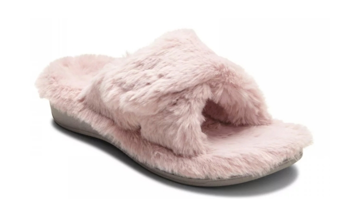 slippers with arch support, Vionic Plush Relax Plush Slippers