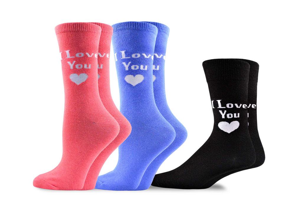 teehee socks, couple's socks