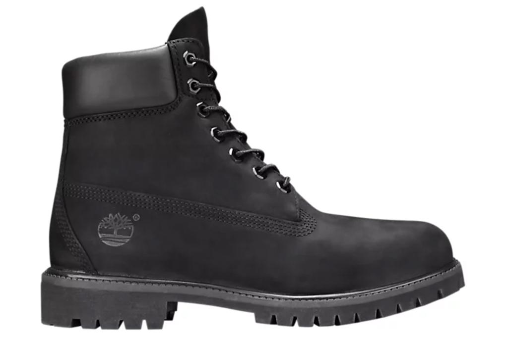 6-Inch Premium Waterproof Boots in Black Nubuck