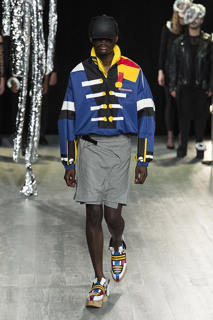charles jeffrey loverboy, london fashion week mens 2019, top shoes