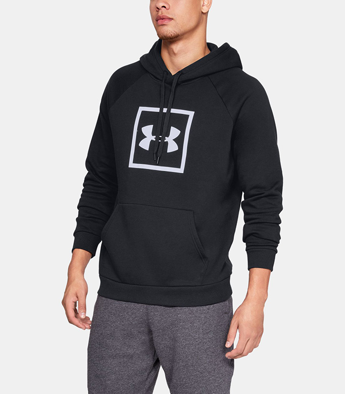 UA Rival Fleece Logo hoodie