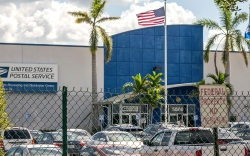 USPS processing facility
