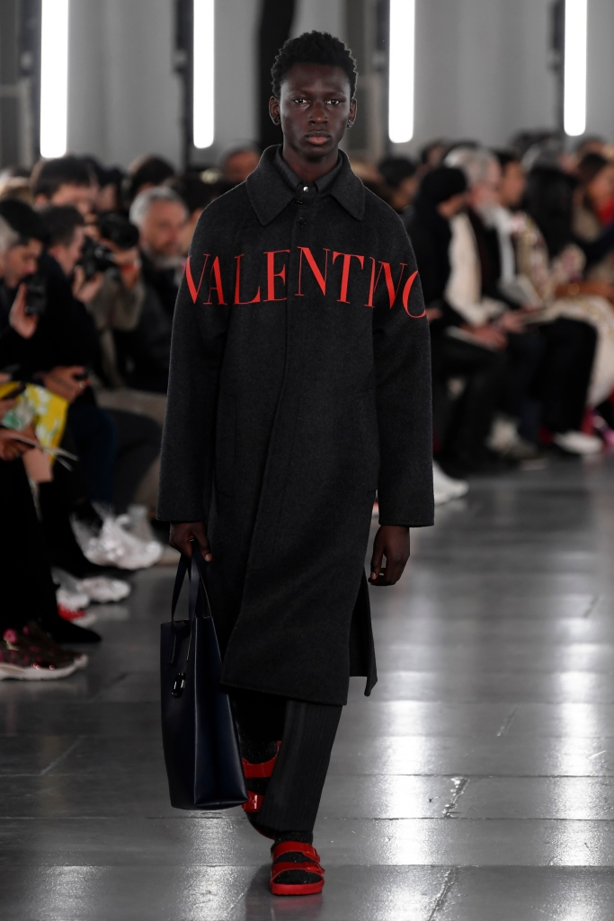 valentino x birkenstock, paris men's fashion week