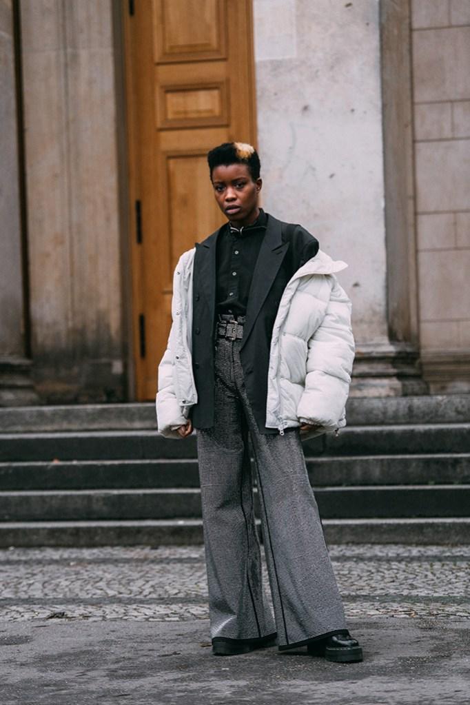 Valerie Mevegue, berlin fashion week, street style, dr. martens, boots