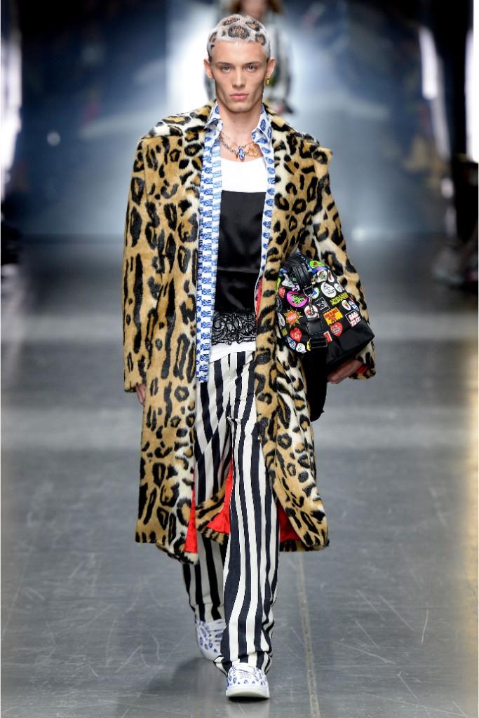 fall 2019, runway, versace, fashion week, milan