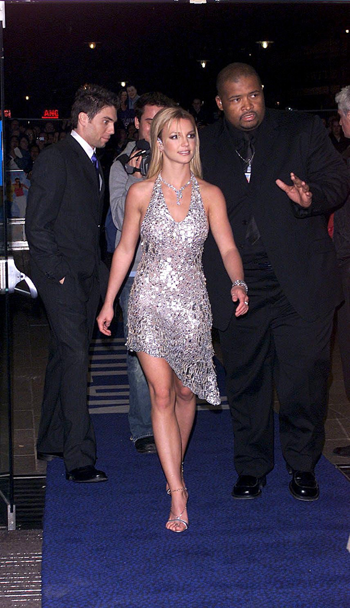 Britney Spears Most Daring Red Carpet Looks Over The Years Photos Footwear News