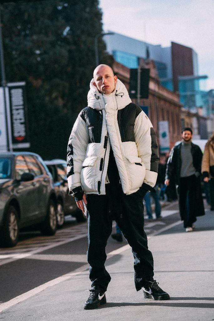 Vsevolod Sever Cherepanov in Nike x Off-White