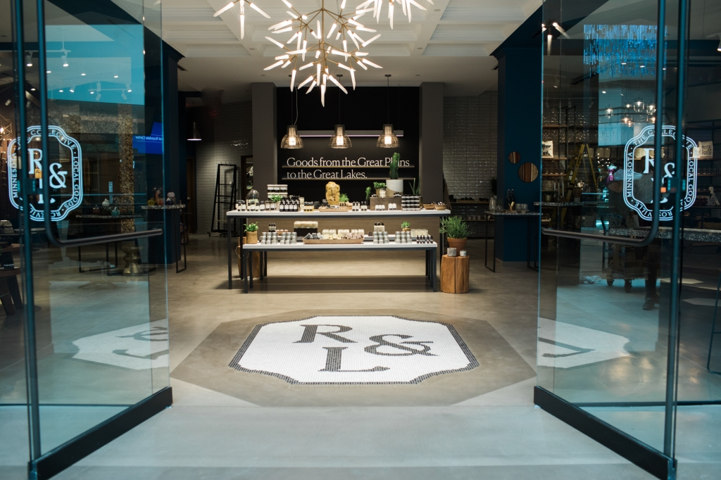 The Rose & Loon concept within JLL's Rosedale Center curates a mix of local wares for a boutique-like shopping experience.