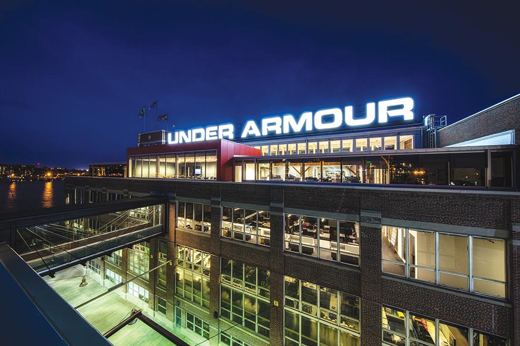 Under Armour headquarters baltimore