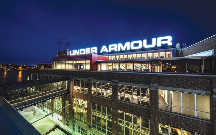 Under Armour headquarters baltimore