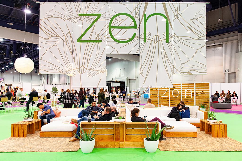 FN Platform's Zen lounge