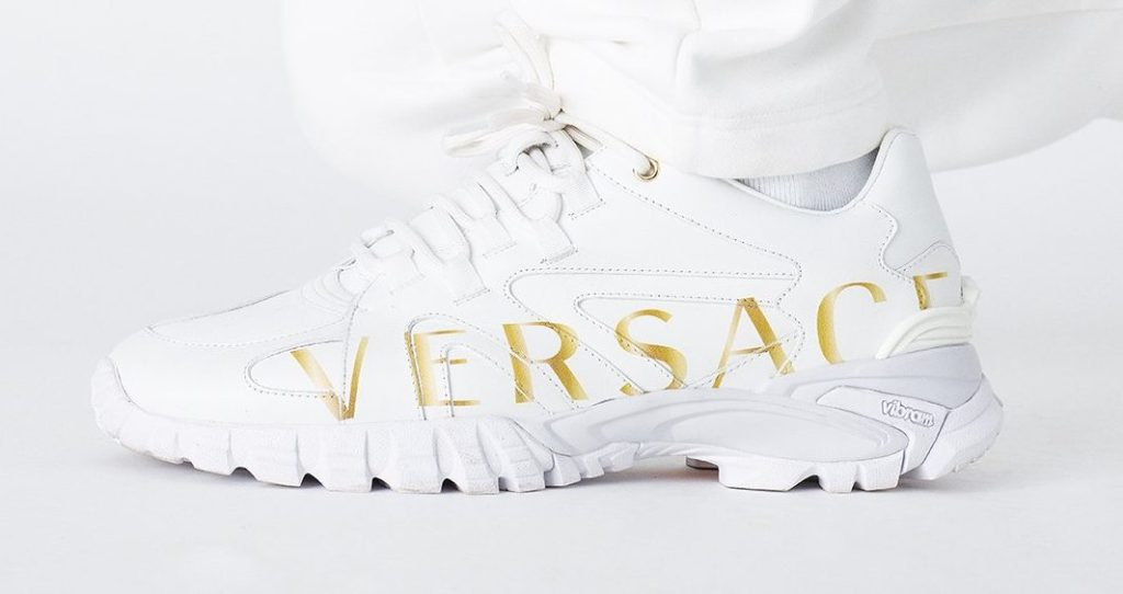 Kith x Versace Amico Trainer Low White