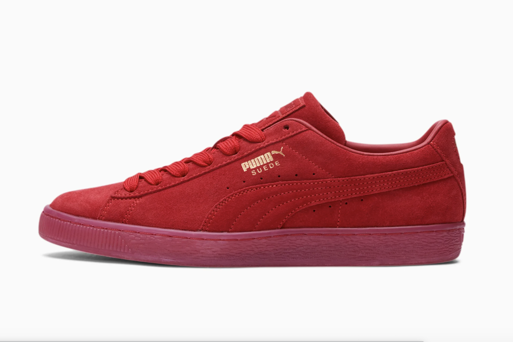 Red Sneakers for Women, Puma Suede Classic