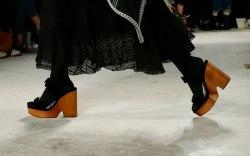 Alexa Chung, fall '19, london fashion