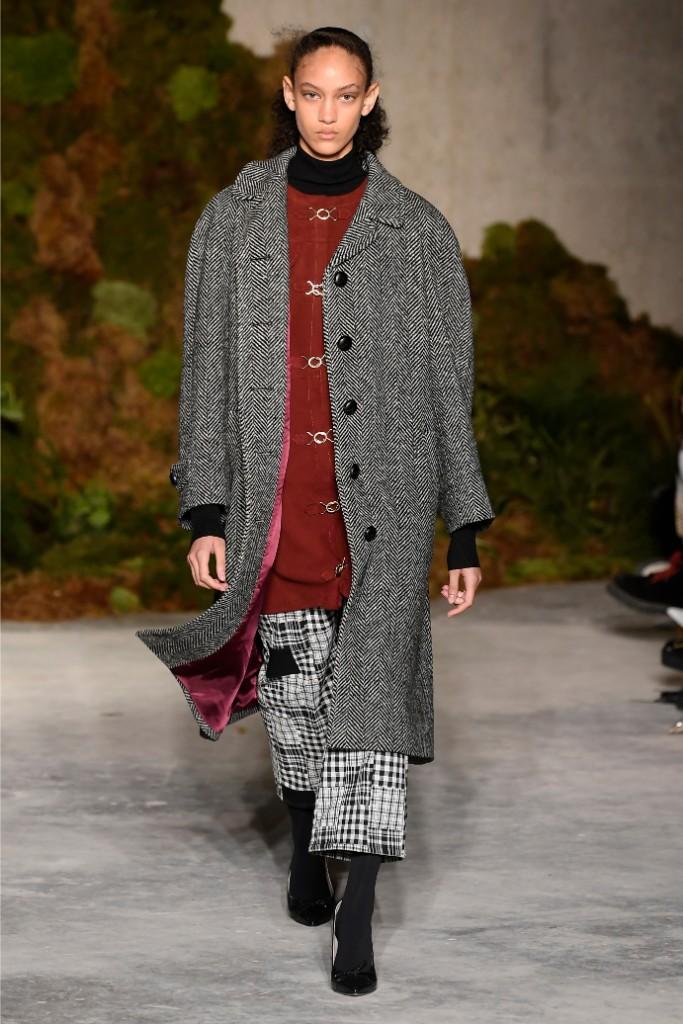 alexa chung, fall 2019, london fashion week