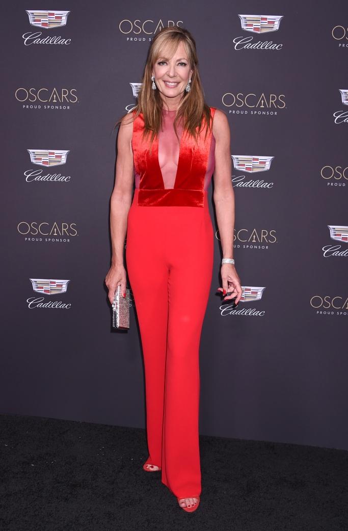 allison janney, Cadillac Oscar Party