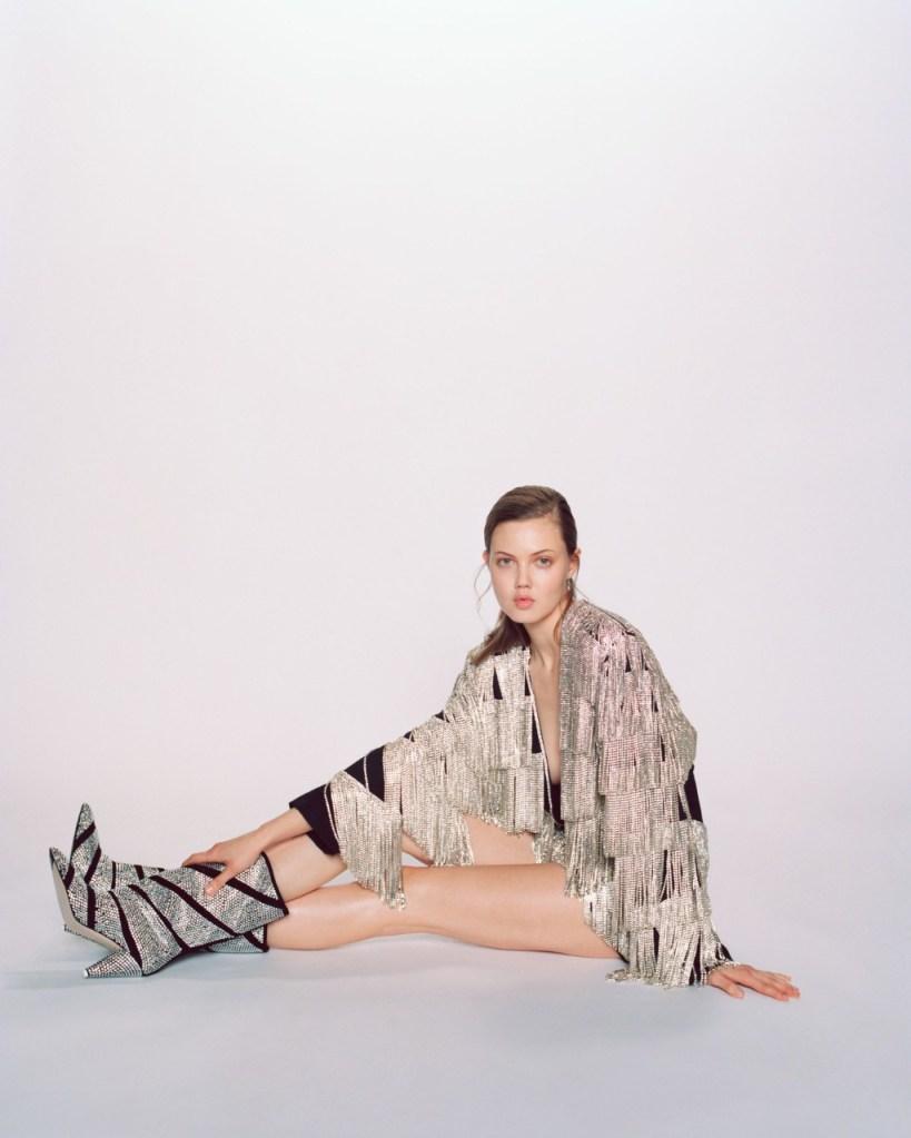 attico, fall 2019, Swarovski, milan fashion week