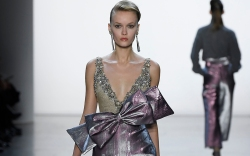 Badgley Mischka show, Runway, Fall Winter
