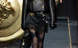 Bella at Versace Fall '19