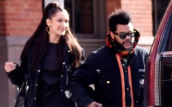 Bella Hadid, the weeknd, nyc, date,
