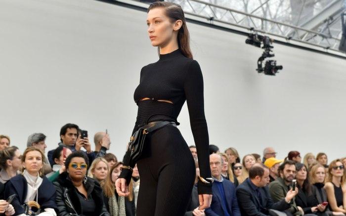 Bella Hadid, roberto cavalli, fall 2019, runway