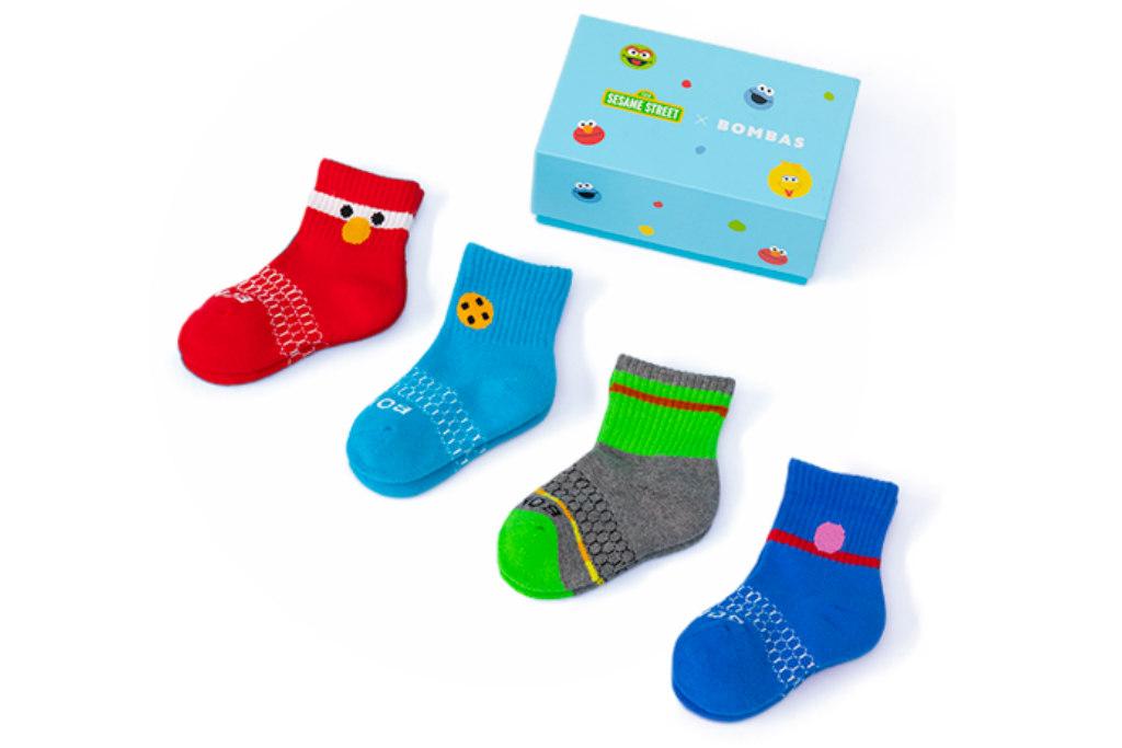 sesame street, bombas socks
