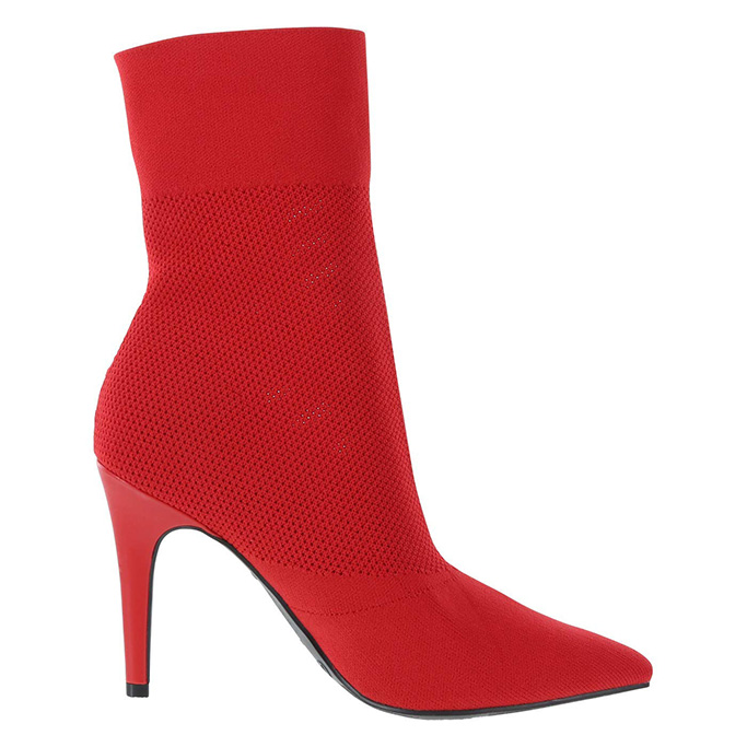 Brash Xaya Pointed-Toe Sock Boot