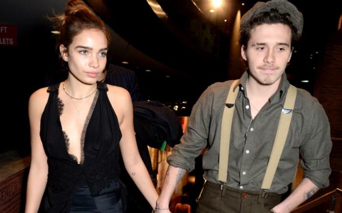 Brooklyn Beckham and girlfriend Hana Cross