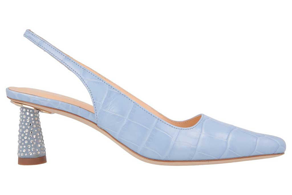 By Far's new Diana slingback for fall '19, a '90's throwback inspired by Princess Diana.