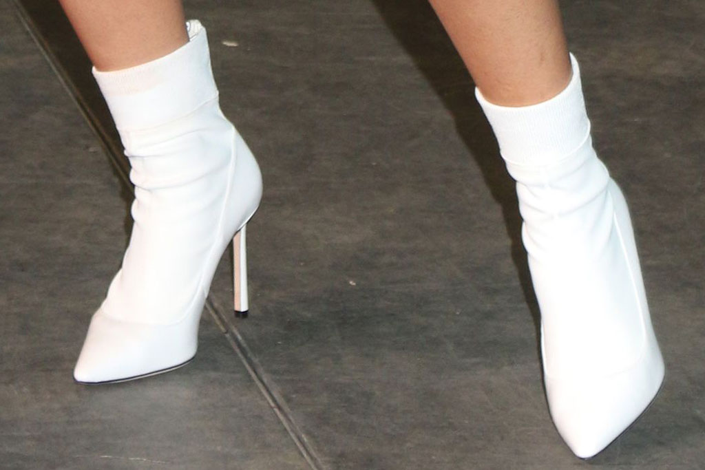 Cardi B, boots, celebrity style, fanatics pre-super bowl party, atlanta