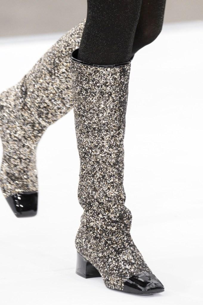 Chanel Fall 2017 Runway Boots