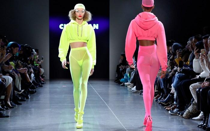 Fashion Christian Cowan, New York, USA – 12 Feb 2019