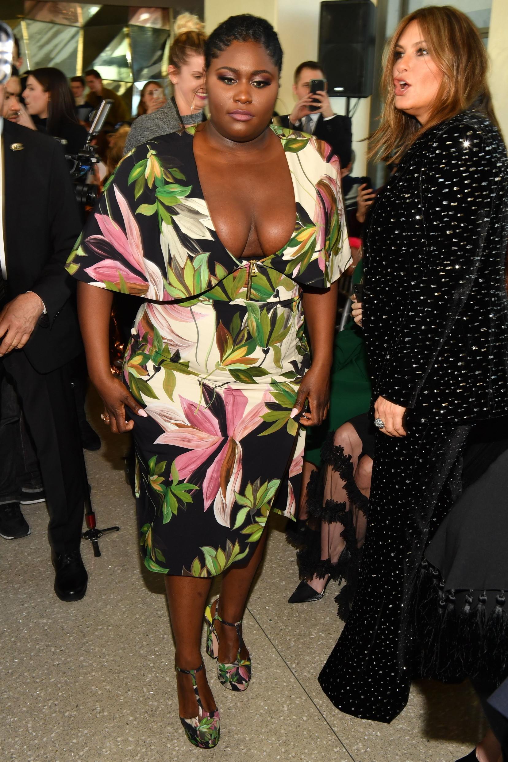 Danielle Brooks Christian Siriano fall 2019