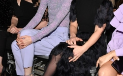Front Row at Christian Siriano Fall 2019
