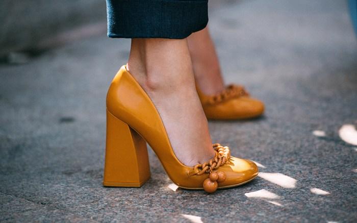 Tory Burch ShoesStreet Style, Spring Summer 2018, New York Fashion Week, USA - 08 Sep 2017