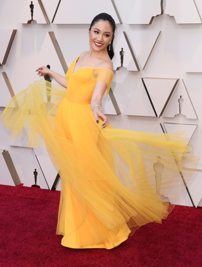 Constance Wu, 2019 oscars, red carpet