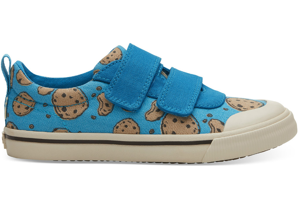 toms shoes, sesame street, cookie monster