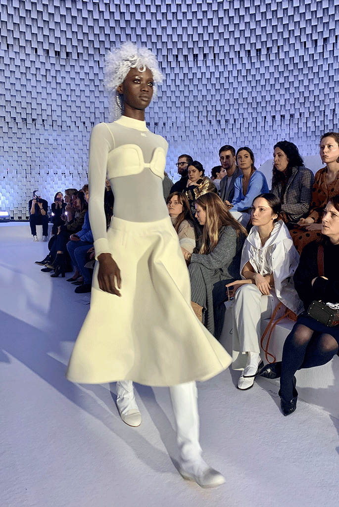 Courreges fall '19.