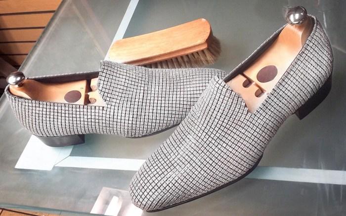 Jason of Beverly Hills, smoking slippers, million-dollar shoe, expensive shoe, diamond shoe
