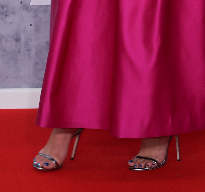 Dua Lipa, dochas sandals, jimmy choo, 39th Brit Awards, Arrivals, The O2 Arena, London, UK - 20 Feb 2019