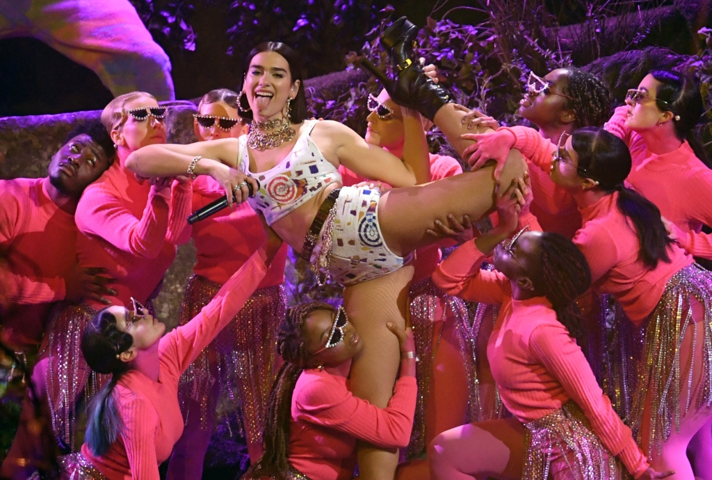 2019 brit awards, dua lipa performance