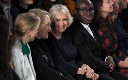 Bethany Williams show, Camilla Duchess of