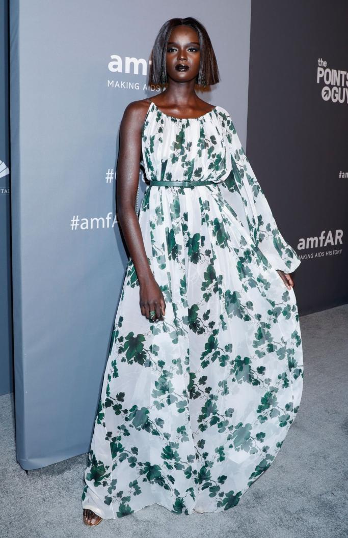 Oscar de la Renta spring 2019, duckie thot, amfar gala 2019, new york fashion week