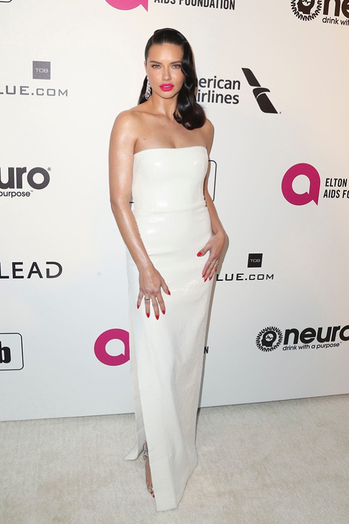 Adriana LimaElton John AIDS Foundation Academy Awards Viewing Party, Los Angeles, USA - 24 Feb 2019