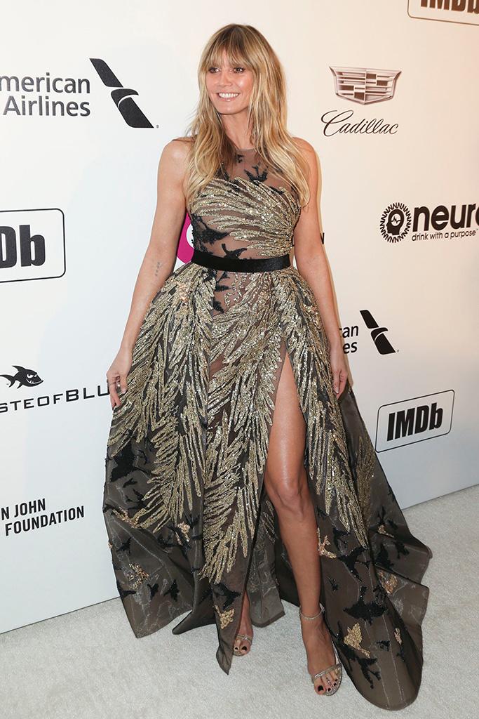 Heidi KlumElton John AIDS Foundation Academy Awards Viewing Party, Los Angeles, USA - 24 Feb 2019