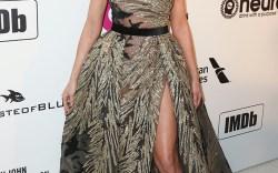 Celebrities at Elton John's Oscars Party