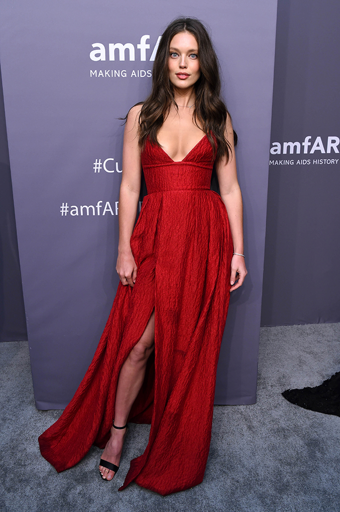 Emily DidonatoamfAR Gala, Arrivals, Fall Winter 2019, New York Fashion Week, USA - 06 Feb 2019 Wearing Alex Perry